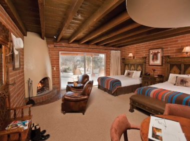 Various suites available at this resort and spa  ranch in arizona