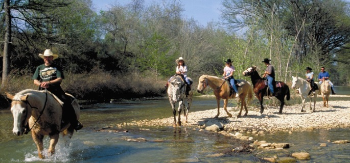 Texas ranch great for beginner riders