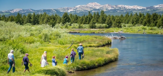 Yellowstone tour when you stay at the Lone Mountain Ranch in Montana