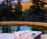 Luxury ranch and private hot tub at Emerald Valley Ranch