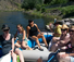 Float trips or fishing on the river