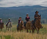 Good riding at Paws up Resort Ranch in Montana