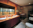 Paws up luxury bathrooms in cabins and tents