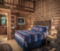 Luxury accommodation at this cattle working ranch in wyoming the Hideout